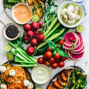 The Ultimate Crudité Platter Guide   Vegetable Platter   Display   Ideas   Party   Dip   Raw   Grilled   Roasted   Vegetables   Gluten Free