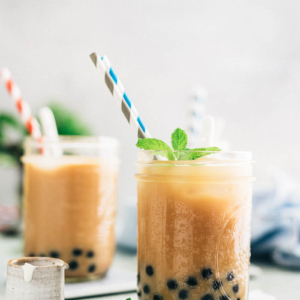Bubble Tea | Boba Tea | Recipe | How to Make | DIY | Drink | Tea | Summer | Asian | Chinese | Milk | Vegan | Vegetarian |