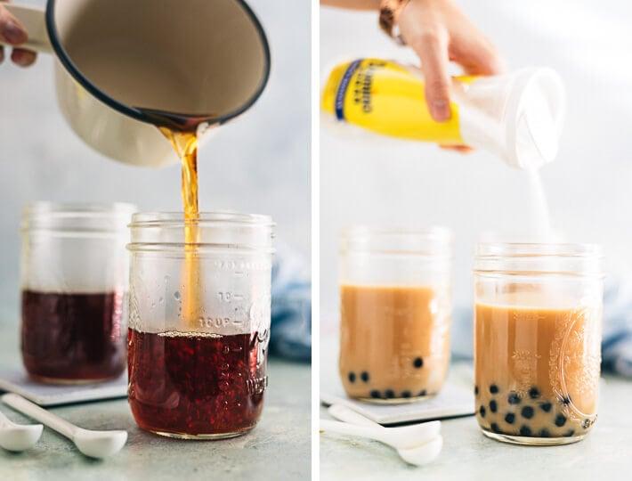 Bubble Tea Cooking Process