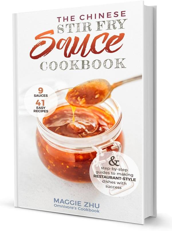 The Chinese Stir Fry Sauce Cookbook Cover