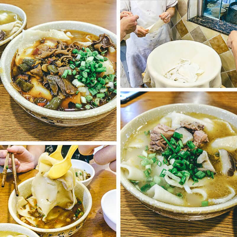 Top 10 Sichuan Street Food in Chengdu - Ribbon Noodles