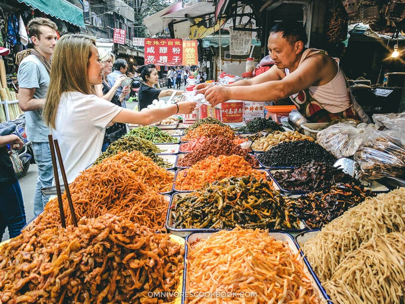 Top 10 Sichuan Street Food in Chengdu - Pickled Vegetables
