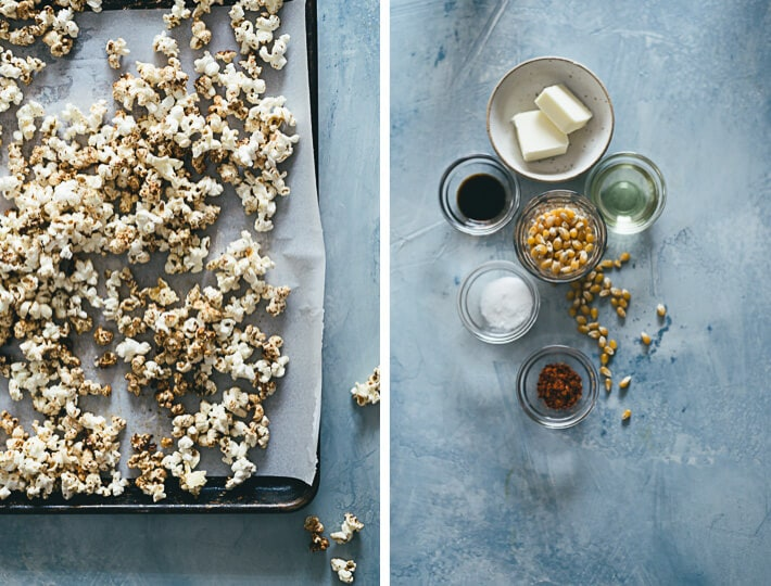 Low-Sugar Kettle Corn Ingredients