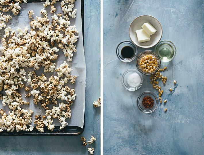 Low-Sugar Kettle Corn Ingredients