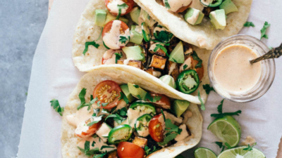 Crispy Hoisin Tofu Tacos | Asian | Recipes | Tex-Mex | Healthy | Vegan | Vegetarian | Cinco de Mayo | Easy | Dinner |