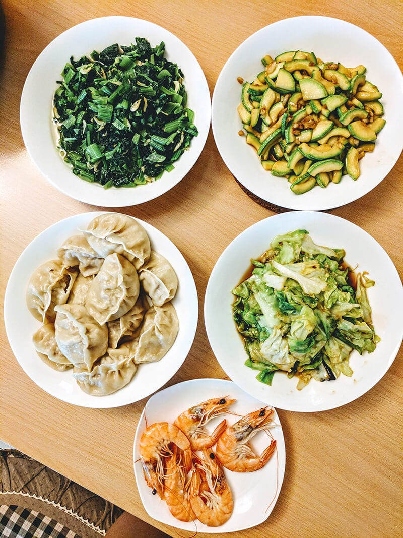 What We Eat in China - Dinner