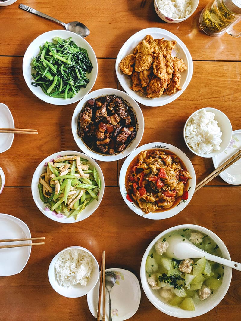 What We Eat in China - Lunch