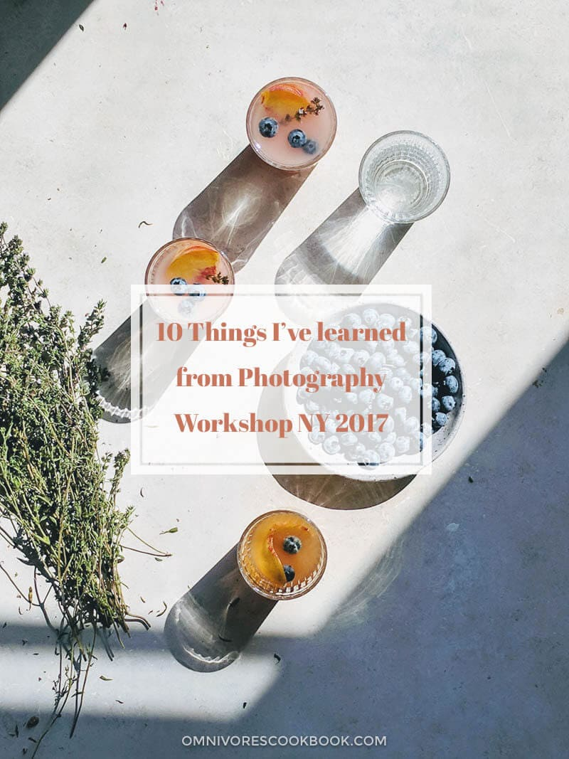 10 Things I learned from Photography Workshop NY 2017