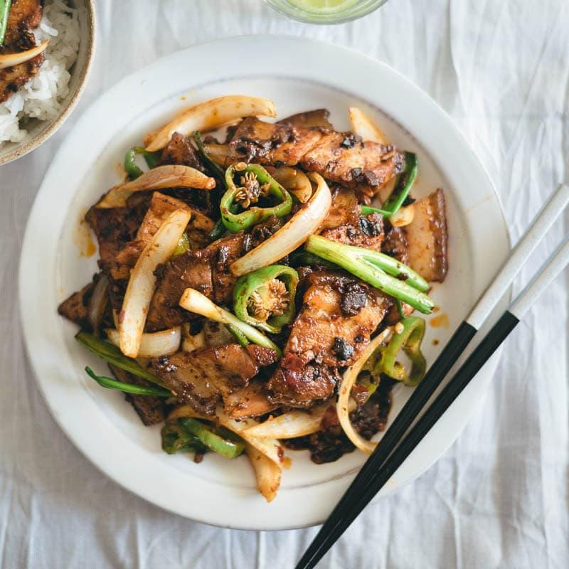 twice cooked pork 回锅肉 a sauce recipe omnivore s cookbook