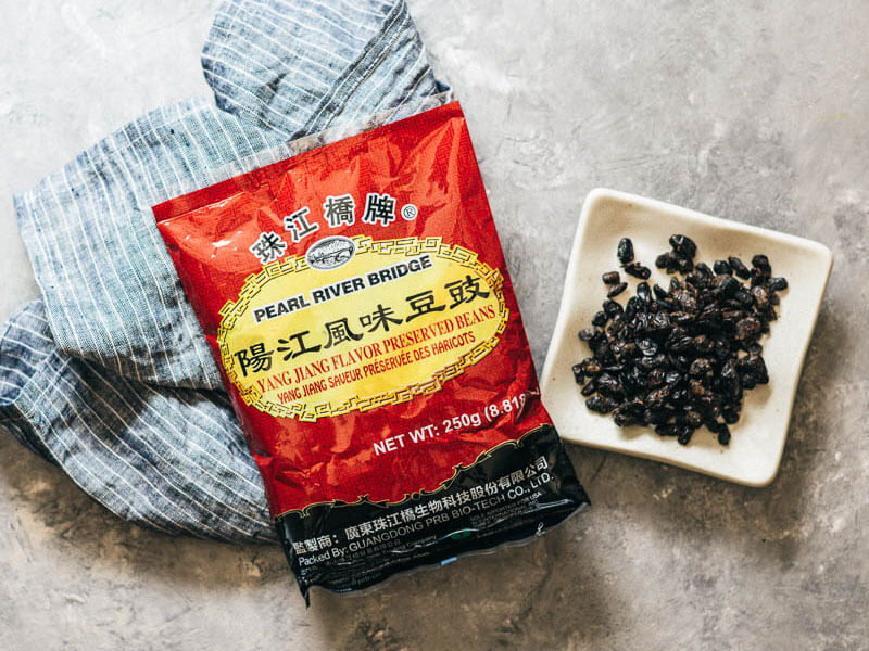 Douchi | Fermented Black Beans