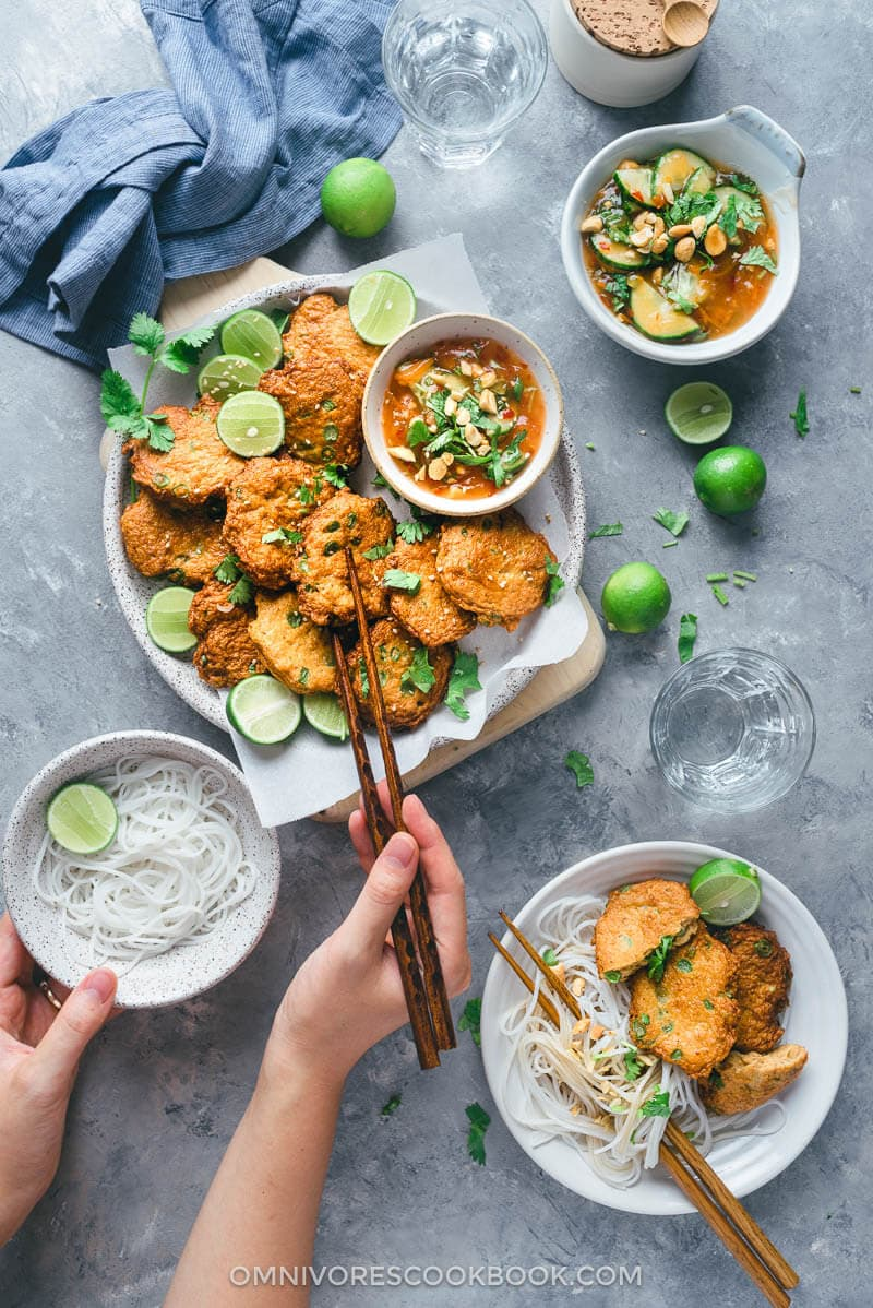 Thai Fish Cakes (Tod Mun Pla)   Asian   Appetizer   Main   Easy   Recipe  