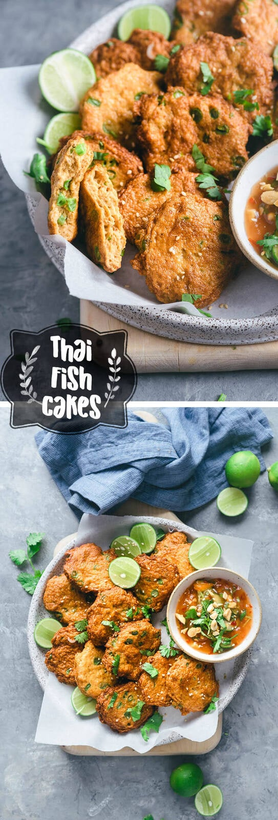 Thai Fish Cakes (Tod Mun Pla) | Asian | Appetizer | Main | Easy | Recipe |
