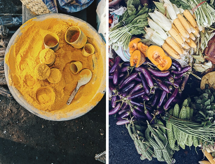 Market in Indonesia - Pasar Gede Barat in Surakarta