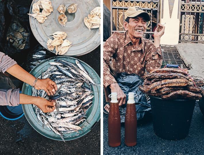 Market in Indonesia - Pasar Gede Barat in Surakarta 2