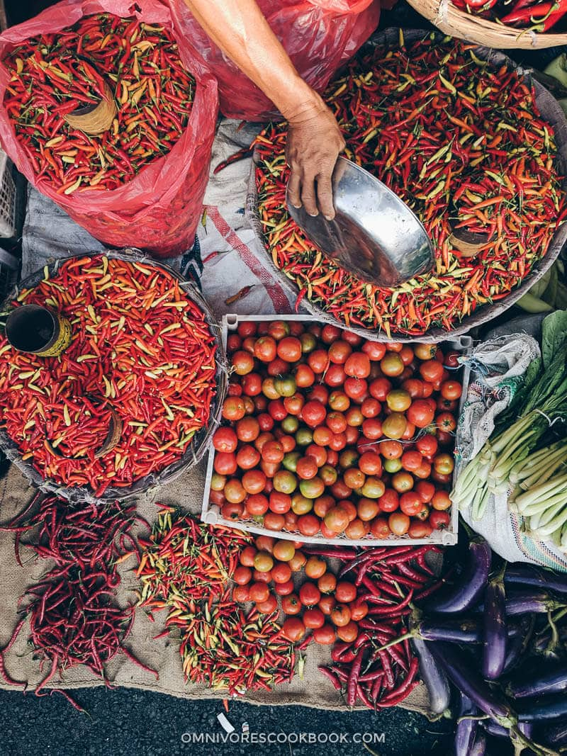 Market in Indonesia - Ubud Morning Market in Bali 6