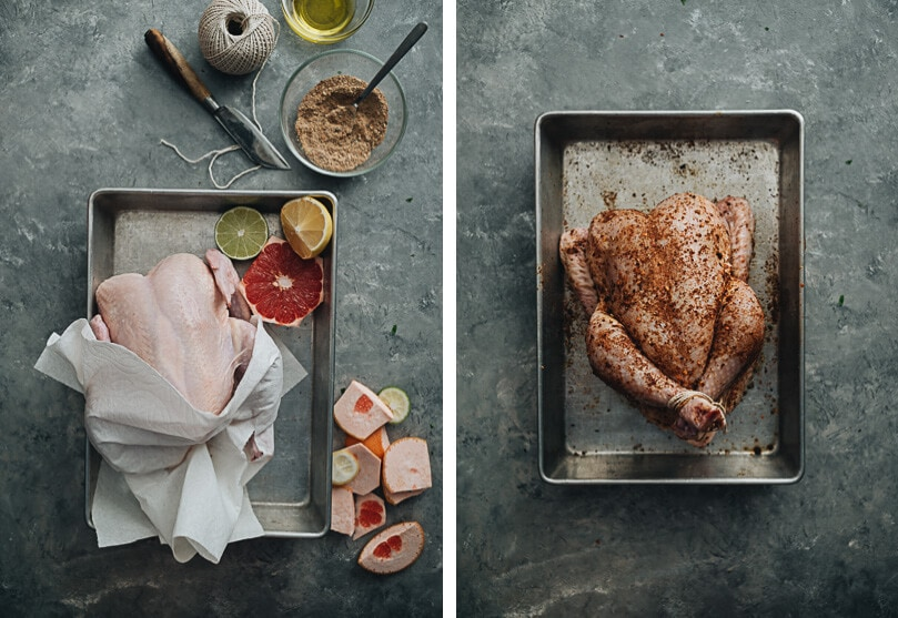 One-Pan Roast Chicken And Vegetables Cooking Process