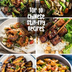 Top 10 Popular Chinese Stir-Fry Recipes