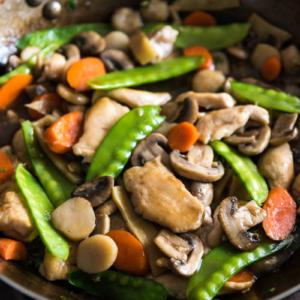 Moo Goo Gai Pan 蘑菇鸡片 Omnivore S Cookbook