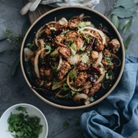 The real-deal Chinese cumin lamb stir fry recipe that yields highly addictive results.