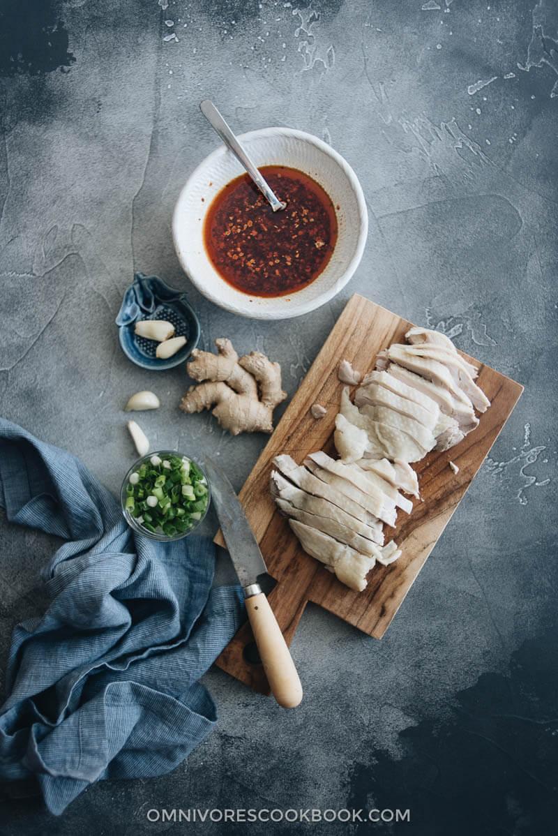 Sichuan Chicken Cooking Process