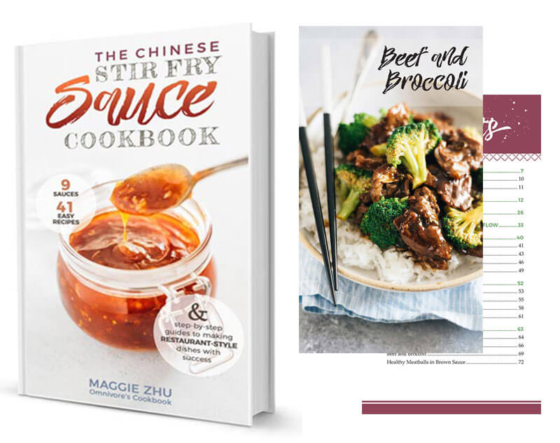 The Chinese Stir Fry Sauce Cookbook Banner