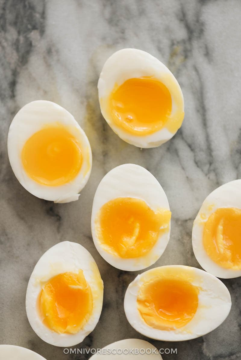 Instant pot eggs for perfect soft-boiled eggs