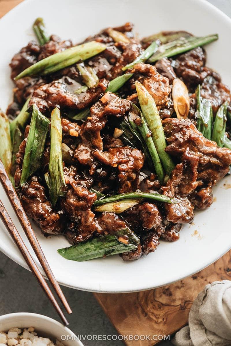 Mongolian Beef restaurant style