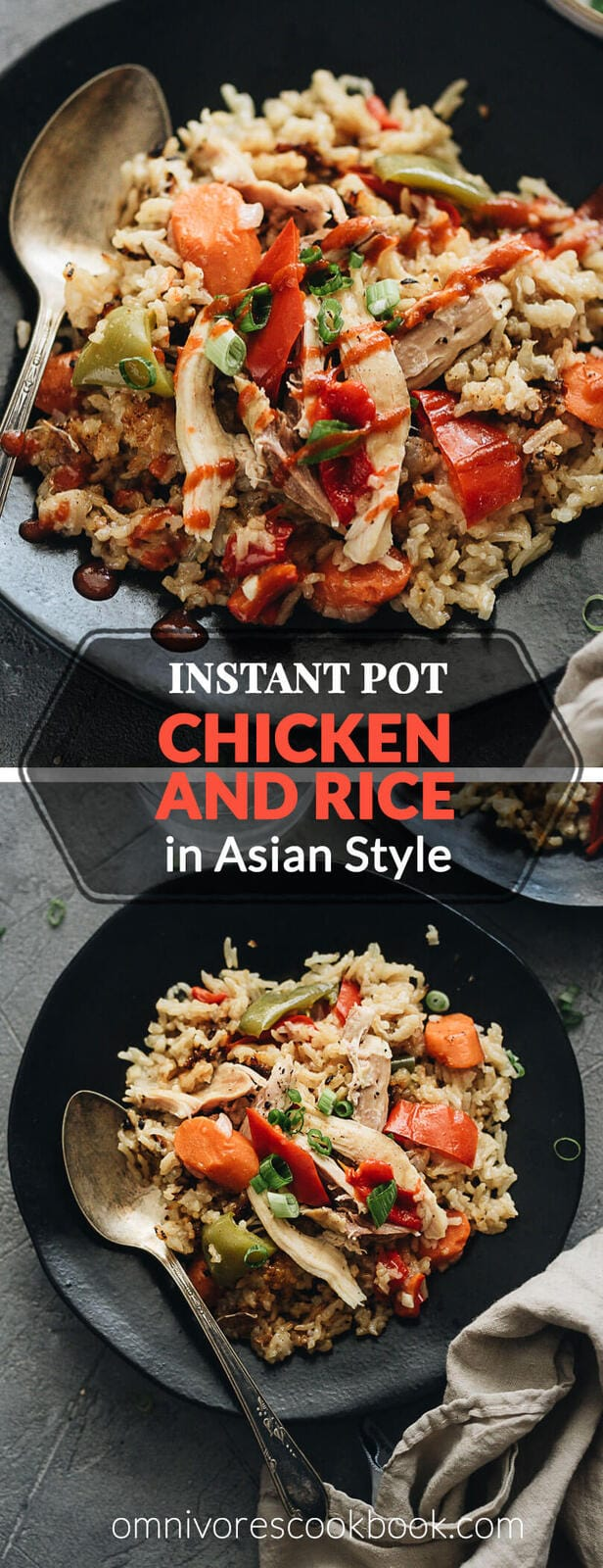 Asian Instant Pot Chicken And Rice A Pressure Cooker Recipe Omnivore S Cookbook