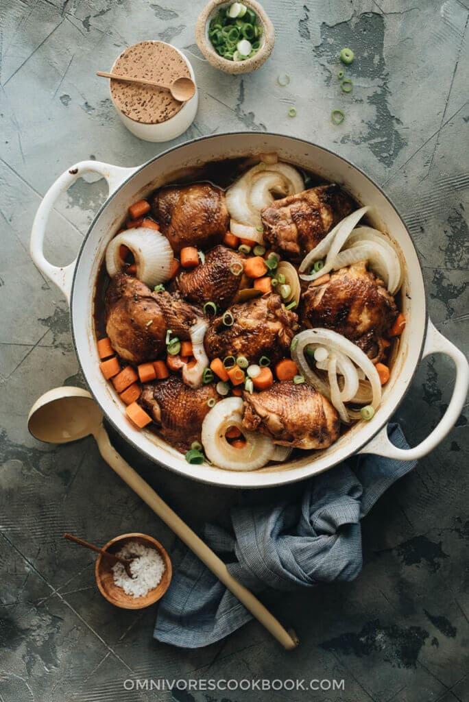 The Best Filipino Chicken Adobo Omnivore S Cookbook