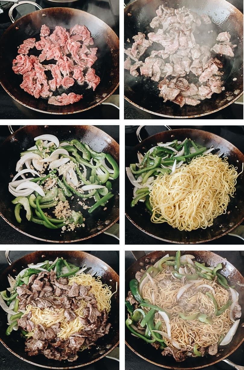 Chinese Beef Chow Mein (牛肉炒面) | Omnivore's Cookbook