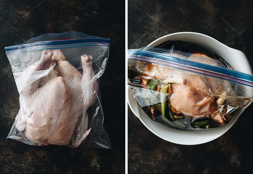 Prepare to make soy sauce chicken