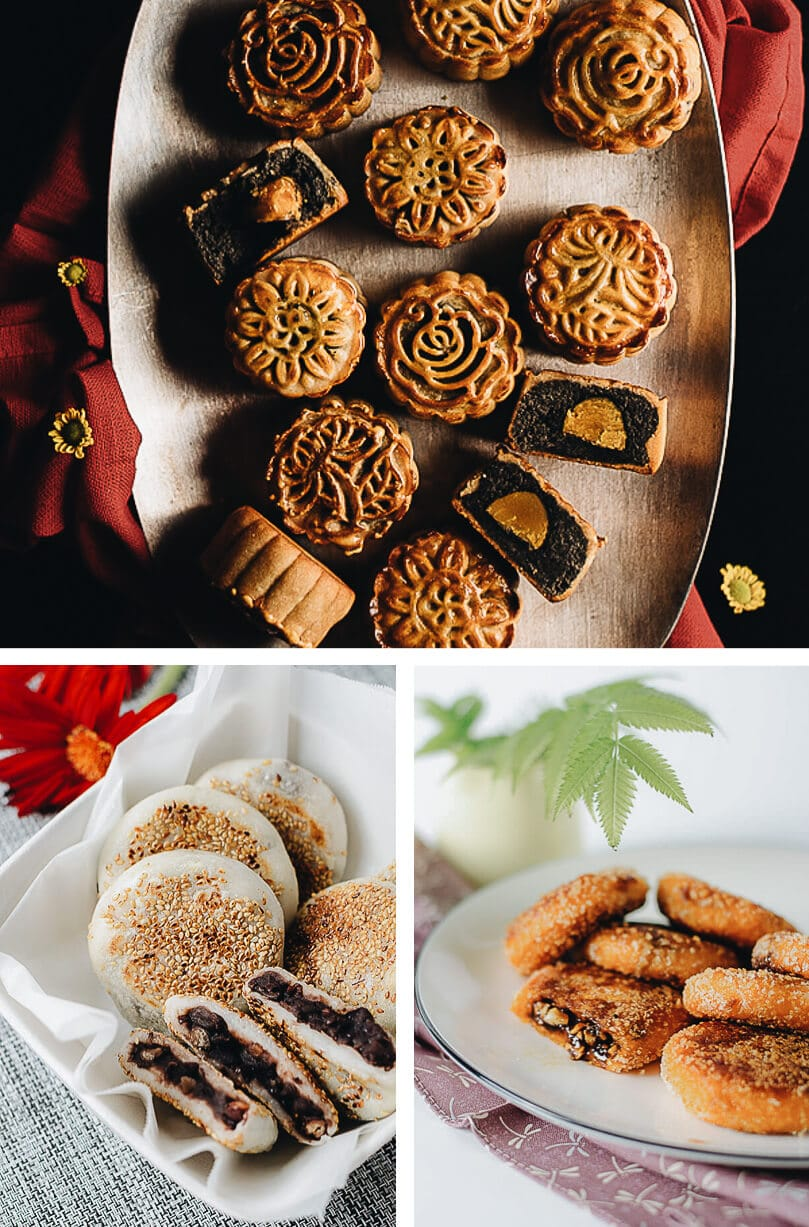 Chinese Mid-Autumn Festival Menu - Festival Foods - Mooncake & Rice cakes