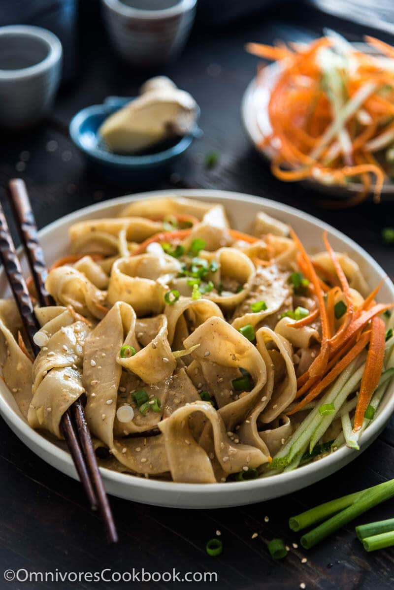 Top 15 Vegetarian Chinese Recipes - Real Deal Sesame Noodles