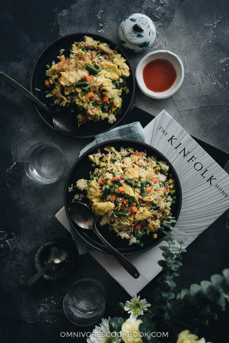 Top 15 Vegetarian Chinese Recipes - Vegetable Fried Rice