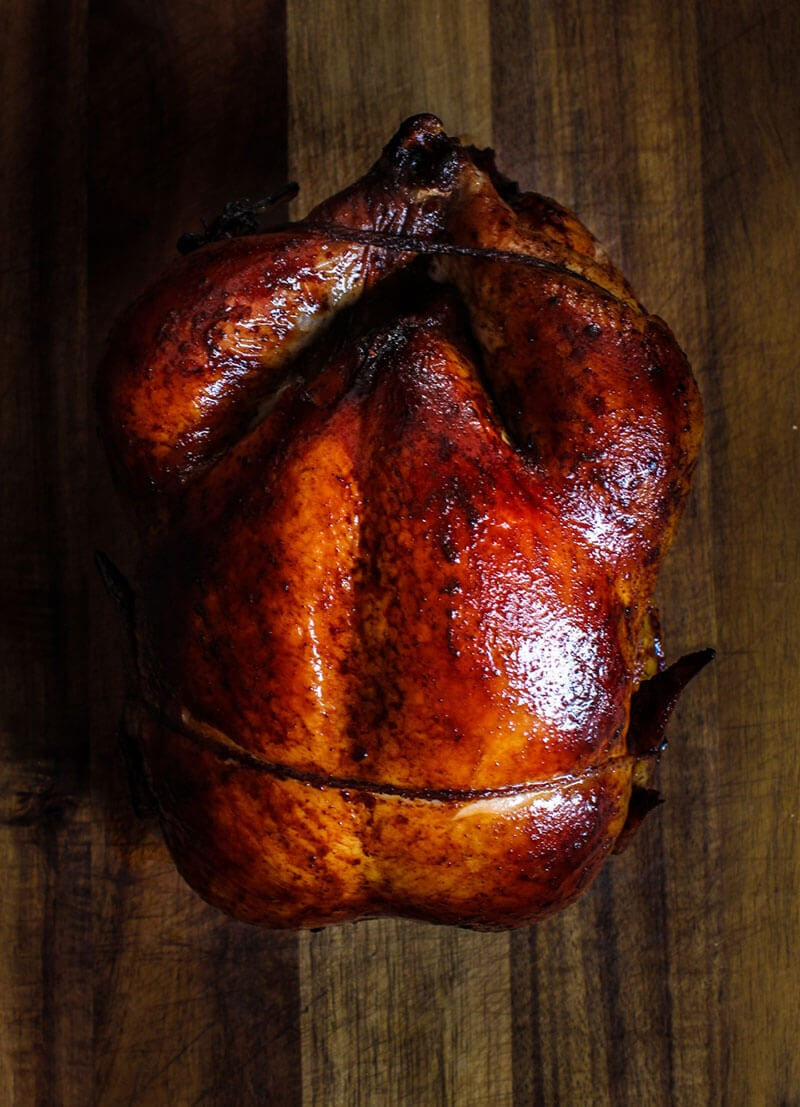 Oven roasted Peking chicken whole chicken
