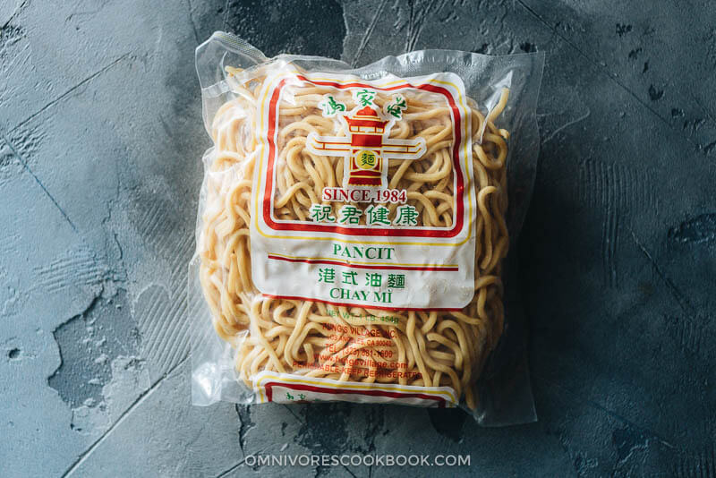 Noodles to use in Hae Mee