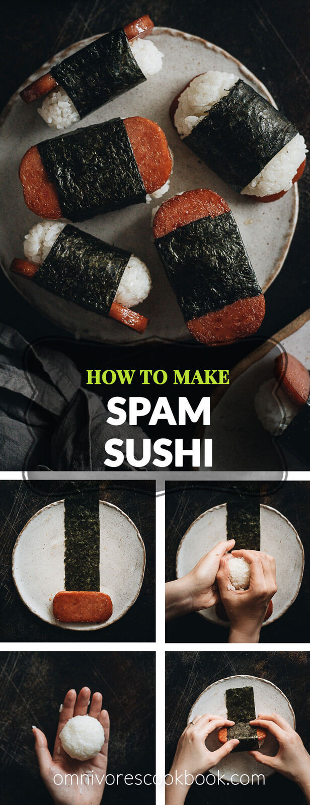 Barter Worthy Spam Musubi Omnivore S Cookbook