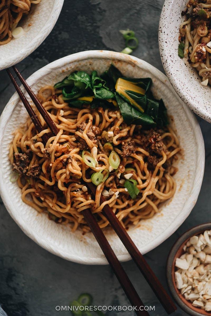 Vegan Dan Dan Noodles Omnivore S Cookbook