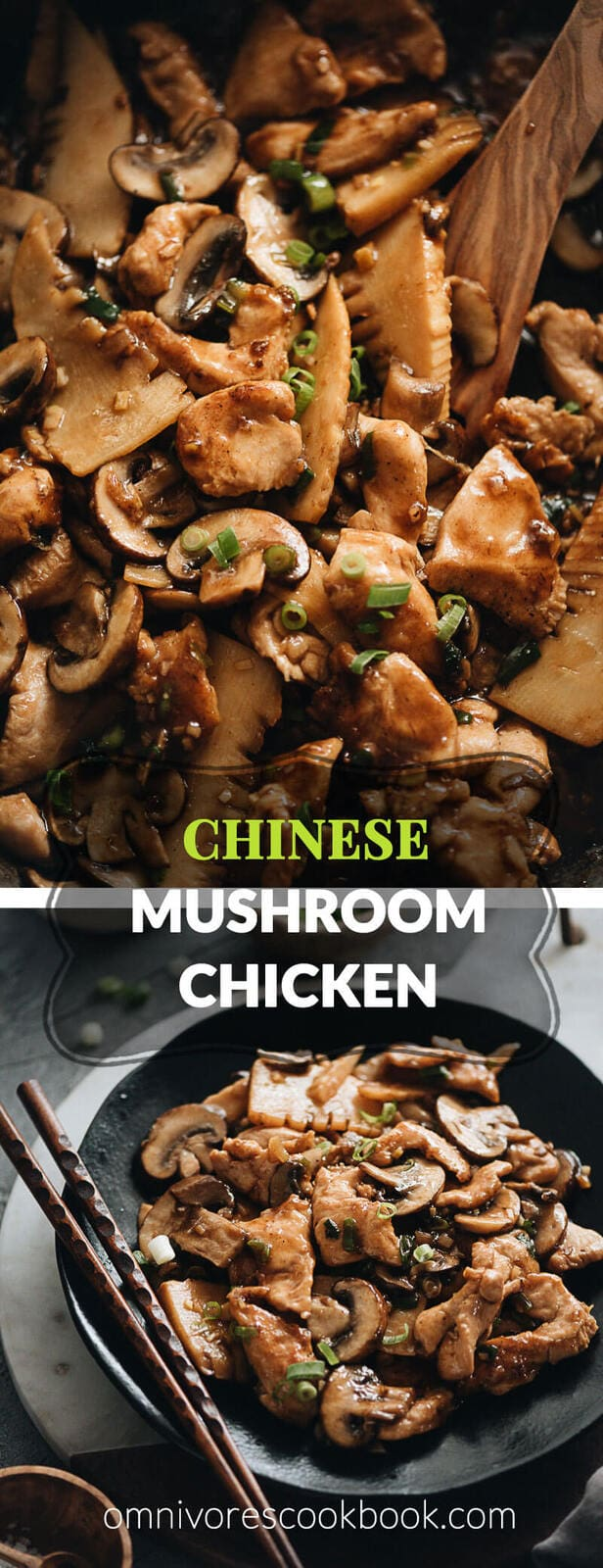 Chinese Mushroom Chicken Stir Fry Omnivore S Cookbook