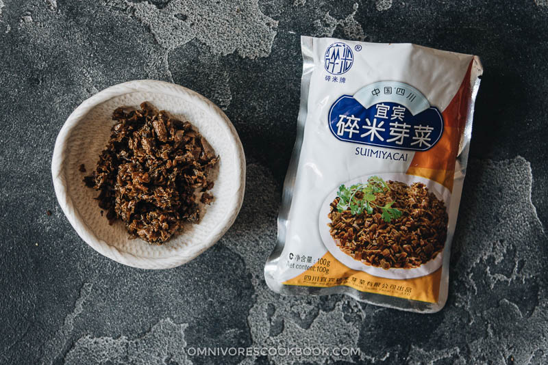 Sui Mi Ya Cai, 碎米芽菜