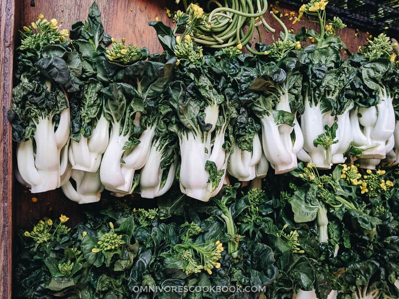 An Introduction to Chinese Greens | Omnivore's Cookbook