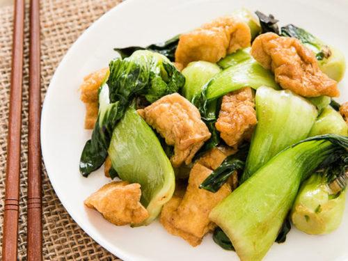 Bok Choy And Tofu Recipe