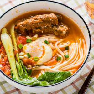 Tomato Noodle Soup - The Ultimate Comfort Food