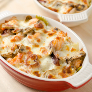 Baked Seafood Pasta