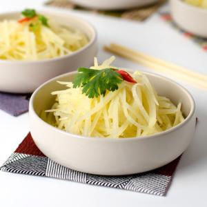 Chinese Style Potato Salad