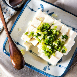 Green Onion Tofu Salad (小葱拌豆腐)