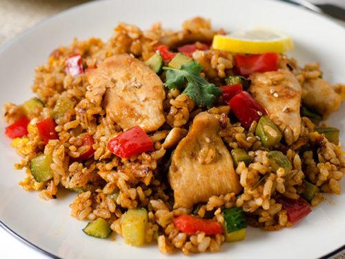 Thai Curry Chicken Fried Rice Omnivore S Cookbook