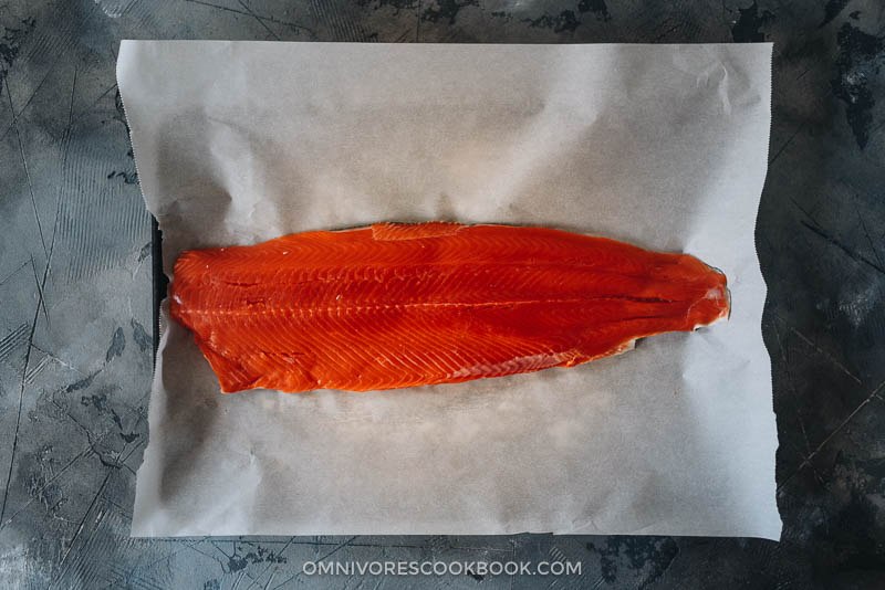 Copper River Sockeye Salmon Fillet