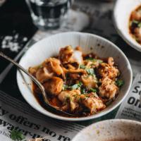 Sichuan Spicy Wonton in Red Oil