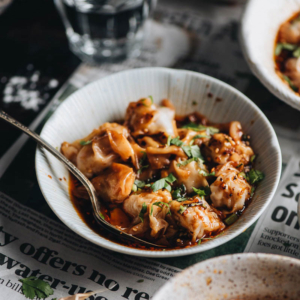 Sichuan Spicy Wonton in Red Oil
